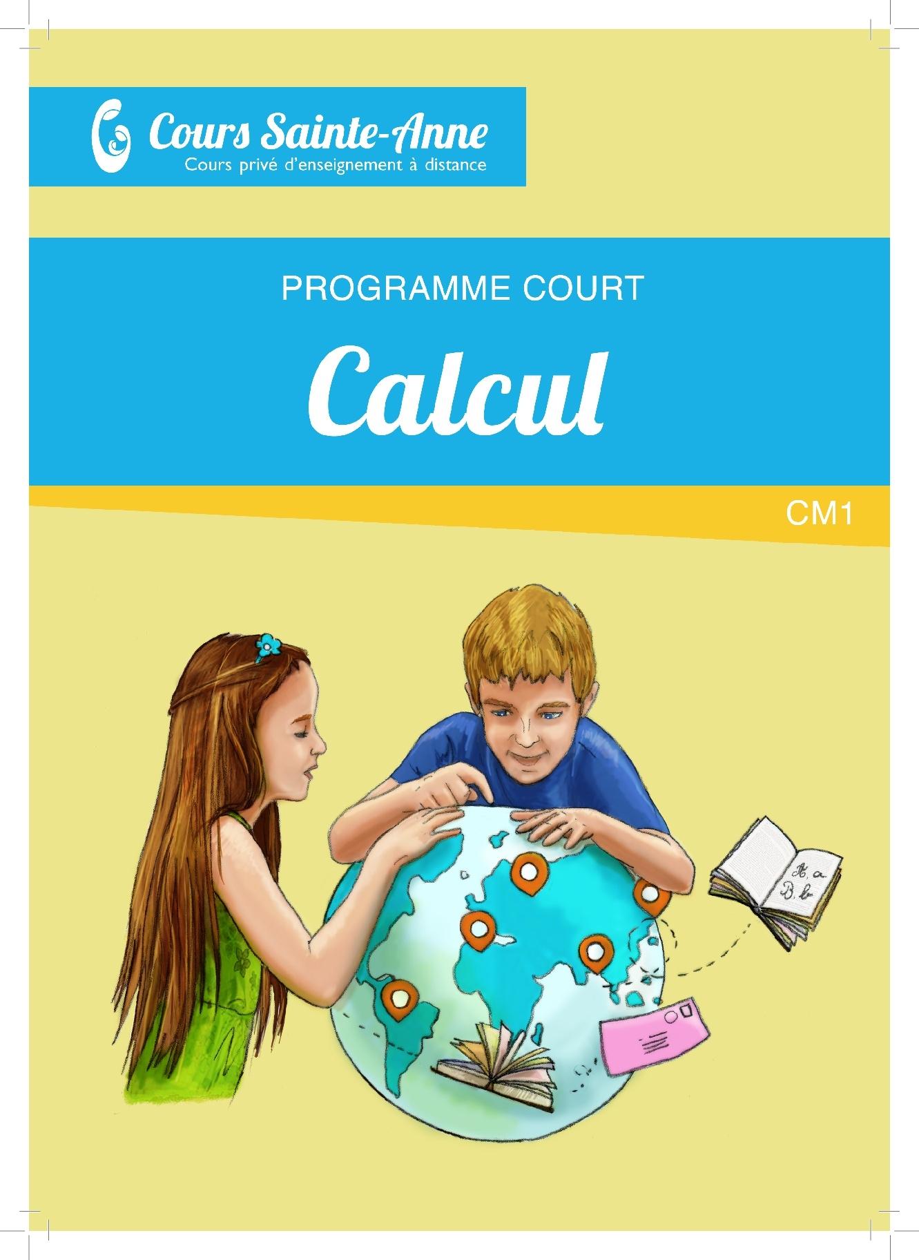 Programme Court Mathématiques  sans correction - CM1