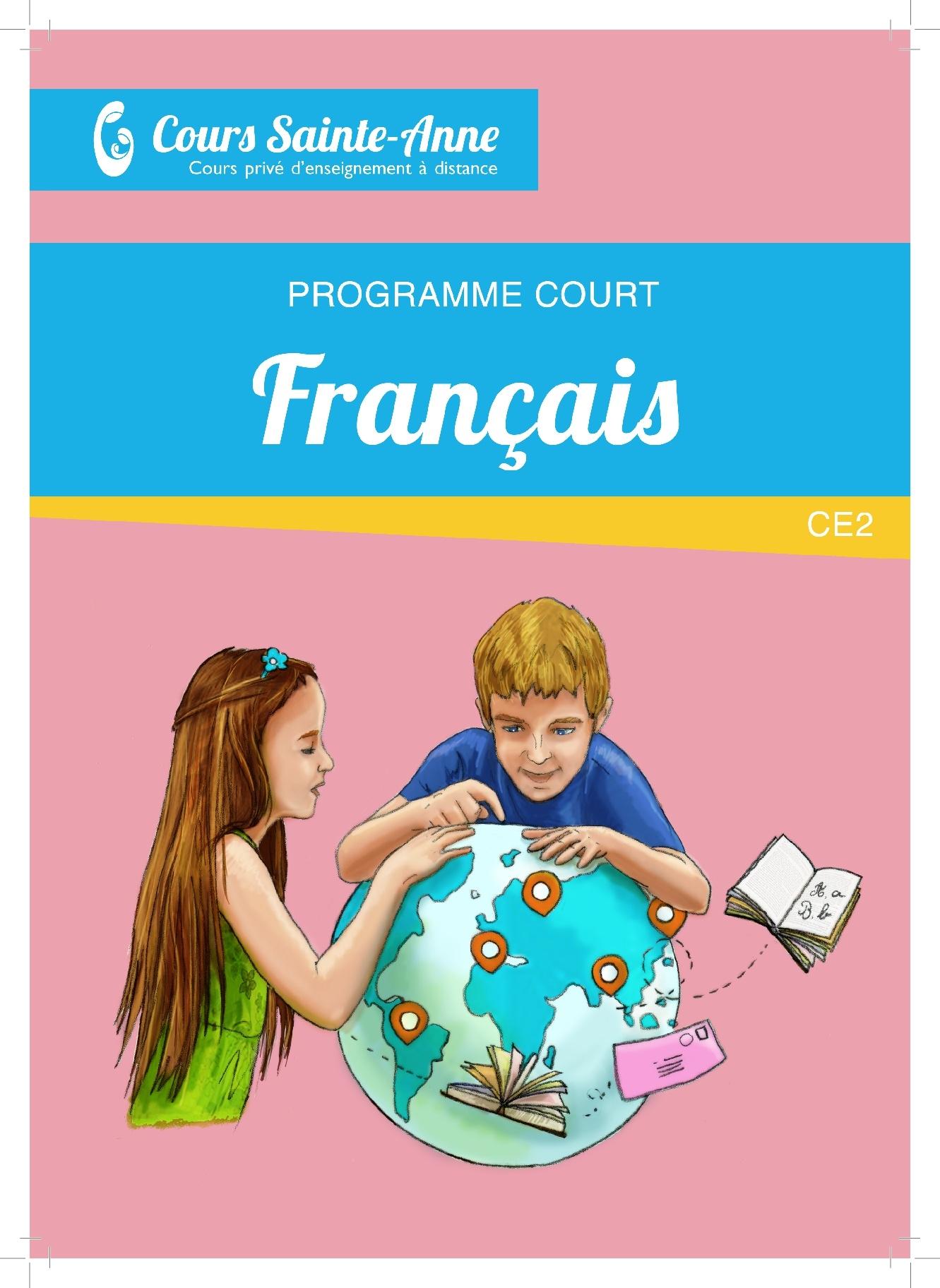 Programme Court Français sans correction - CE2