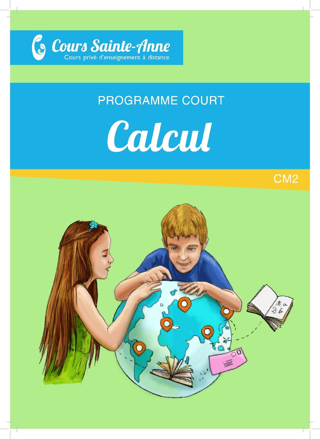 Programme Court Mathématiques sans correction - CM2